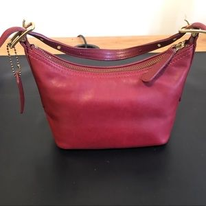 Authentic Coach Legacy Red Leather Hobo Bag 👛👜